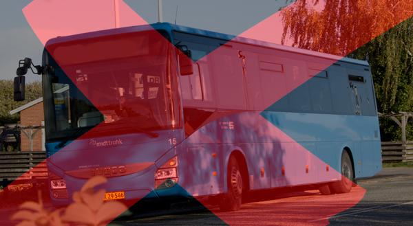 Blå Busser………….