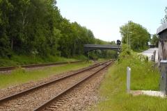 Jernbanen ved Mundelstrup Stationsby